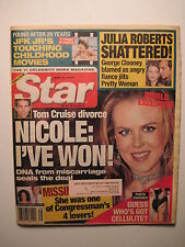 Star Magazine 7-17-2001. Nicole Kidman! Tiffany Storm porn star! Sting- police!