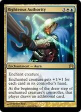 RIGHTEOUS AUTHORITY Return to Ravnica MTG Gold Enchantment—Aura RARE
