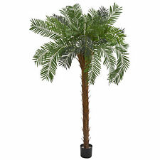 Cycas Palm Artificial Tree Realistic Plant Nearly Natural 7' Home Garden Decor