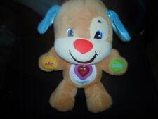 Fisher-Price LAUGH & LEARN SINGING TALKING PUPPY DOG Plush STUFFED ANIMAL Toy