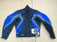 "SWIFT Mens Textile Waterproof Motorbike Motorcycle Jacket Size UK 38"" chest H52"