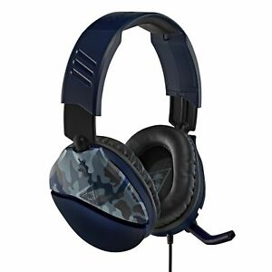Turtle Beach Recon 70 Gaming Headset for Xbox One, Switch, PS4  Blue Camo