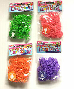 300 packs 300 scented loom bands christmas stocking fillers wholesale party new