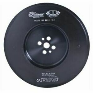 Fluidampr 960341 Harmonic Balancer Internal Steel Black For Dodge Cummins Diesel