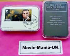 GB 2020 James Bond Stamps, Sean Connery, Goldfinger