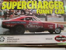 Mr Norm's Supercharger Funny Car Dodge Charger 1:24  Polar Lights 6501