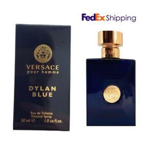 [VERSACE] Dylan Blue Pour Homme EDT Eau De Toilette for Men 30ml / 1 fl.oz