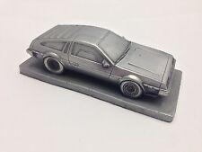 DeLorean Fluted Bonnet 1.43 Scale Pewter Effect Model Car Handmade In Sheffield