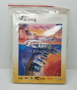 NASCAR 1997 Program - California Speedway Inaugural Event in Packaging with Ads