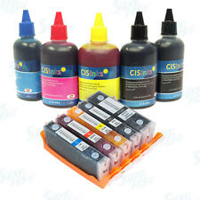 Refillable Ink Cartridge Kit for Canon PGI-270 CLI-271 XL PIXMA MG6821 MG6822