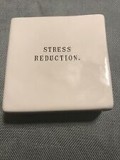 Rae Dunn Artisan Collection Stress Reduction/Bang Head Here Paper Weight