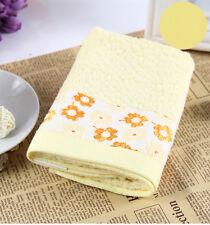 Flower Bamboo Fibre Washcloth children Bath Towel 70x140cm
