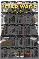 Star Wars Action Figure Variant Covers #1 Christopher Var Marvel Comics Preorder