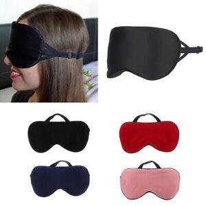New Pure Silk Sleep Eyepatch Travel Shade Cover Sleeping Mask