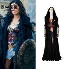 HZYM Wonder Woman Cosplay Costume Outfit Diana Prince Dress Women Custom Made
