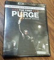 The First Purge A Nation Reborn 4K Ultra HD+Blu-ray+Digital New