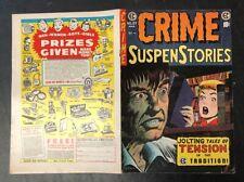 CRIME SUSPENSTORIES - FRONT & BACK COVER ONLY #27