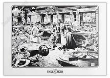 Affiche Ralph Meyer UNDERTAKER Saloon signée 50x70 cm