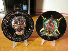 MISOC Military Information Support Command PSYOPS  SOCOM Army Challenge Coin