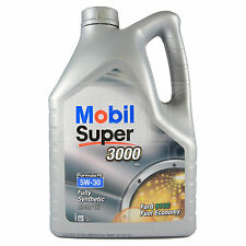 Mobil Super 3000 X1 FE 5W-30 Fully Synthetic Engine 5W30 Motor Oil 5 Litres 5L