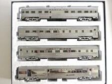 S SCALE American Models Budd Santa Fe High End Passenger Set New in Box