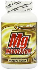 (12,47€/100gr) IronMaxx Mg-Magnesium (130 Kapseln)