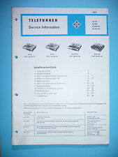 Service Manual instructions for tele radio M 410/M 430/M 440/M 441 ,ORIGINAL