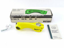 "3T Mutant stem 1"" or 1-1/8"" Ahead 100mm 3ttt Vintage Bike Threadless YELLOW NOS"
