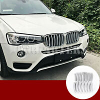 For BMW X3 F25 ABS Front Grille Grid Molding Trim Cover 14pcs 2011-2017