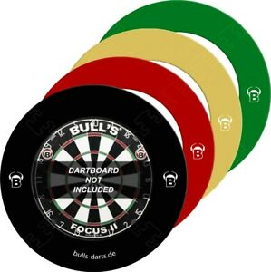 BULL'S Dart - Quarterback EVA Dart Board Surround grün rot schwarz Steeldart 🎯