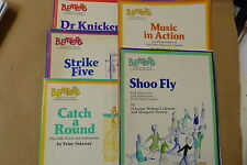 books JOB LOT OF 5 Beaters Guides, shoe fly, in action, catch round, strike, dr