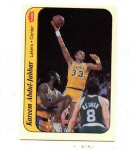 #1  KAREEM ABDUL JABBAR    1986 fleer  STICKER   Sharp Mint!!