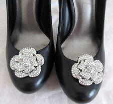 Handmade Clip Gioiello arrugginite SPOSA occasione, a forma di fiore clip scarpa