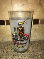THE 115TH PREAKNESS MAY 19 1990 DRINKING GLASS PIMLICO BALTIMORE MARYLAND #0106