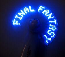 Final Fantasy XIV A Realm Reborn Promo Mini Portable Hand Fan Gamescom 2013