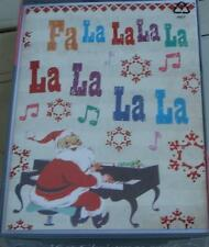 Trim A Home Christmas Cards with Envelopes - Fa la la - 16 count - Brand New