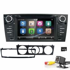 For BMW E90 3 Series Navigation DVD Player 1DIN Car Radio Stereo GPS Head Unit B