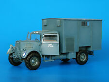 PLUS MODEL #199 British Truck Fordson WOT 3 Workshop Body Resin Kit in 1:35