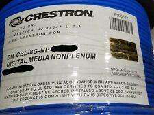 Crestron DM-CBL-8G-NP 24/4P DigitalMedia 8G F/UTP CAT5e Cable Riser Blue /50ft