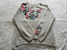 H&M Embroidered Maternity Jumper - Small