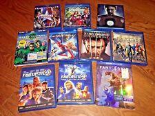 Lot of [10] Marvel Superhero-Blu-Ray Disc Capt-America;Avengers, Iron Man & more