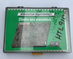 Introduction To Electronics: A Diodes And Transistors Macmillan Intek Ltd. 1986