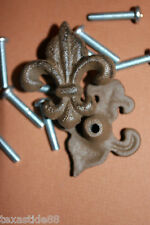 (30) Fleur De Lis Drawer Knobs, French Style Knobs, Cabinet Knobs, Cabinet Pulls