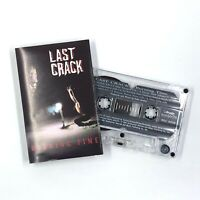 LAST CRACK Burning Time Cassette Tape Heavy Metal Roadrunner Rare