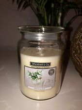 LARGE WEDDING DAY 18oz  JAR CANDLE - WICKFORD & CO. Gift Idea