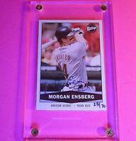 2004 SP Authentic Buy Backs #d/70 Morgan Ensberg #336 Auto Autograph Astros Rare