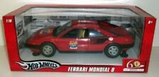 HOT WHEELS 1:18 AUTO IN METALLO FERRARI MONDIAL 8 60°ANNIVERSARIO ART L7340