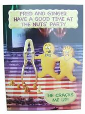 Fred & Ginger Nuts 'Cracks me up' Joke BLANK card by Paperhouse