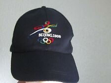 Beijing 2008 Olympics Sewn Adjustable Hat Cap