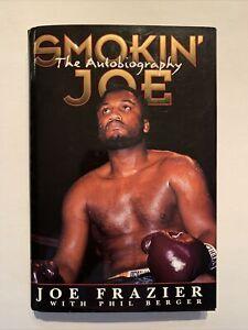 Smoking' Joe, Joe Frazier Autobiography, Signed 1996 First Edition; HC/DJ
